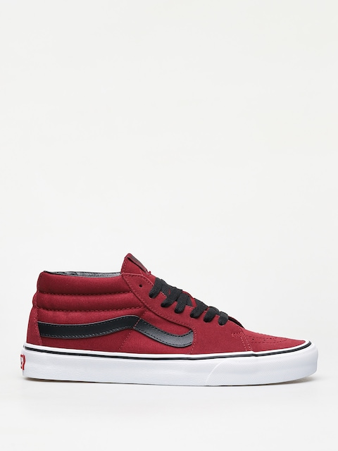 Vans Sk8 Mid Shoes (biking red/true white)