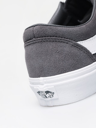 Vans Bold Ni Shoes (suede/pewter/true white)
