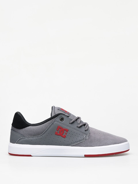 DC Plaza Tc Shoes (grey/grey/red)