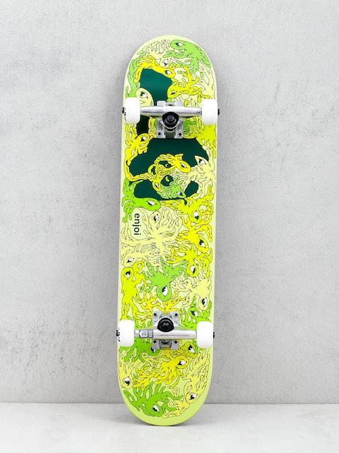 Enjoi Slimer Panda Skateboard (green/yellow)