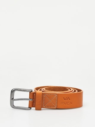 RVCA Truce Leather Belt (tan)