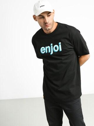 Enjoi Helvetica Neue T-shirt (black)