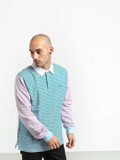 Enjoi Confused Stripes Polo t-shirt (pastel)