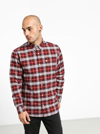 Carhartt WIP Linville Shirt (linville check cardinal/wax)