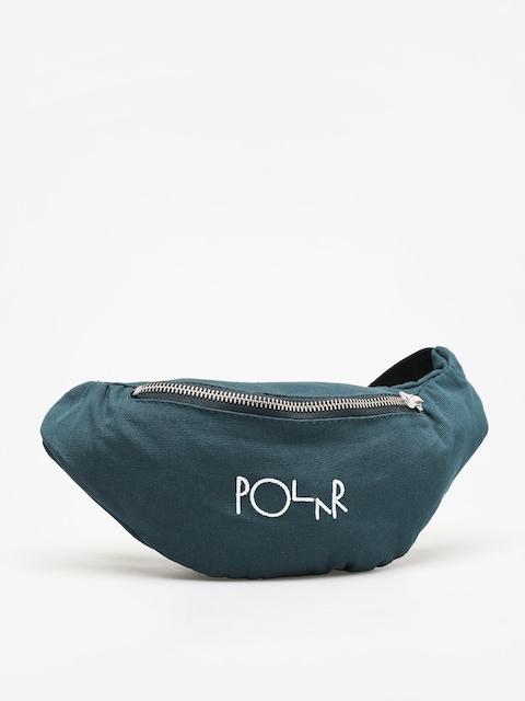 Polar Skate Script Logo Bum bag (dark green)