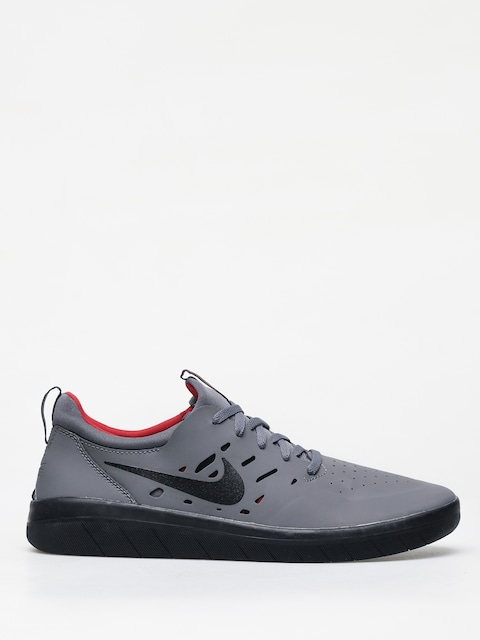 Nike SB Nyjah Free Shoes (dark grey/black gym red)