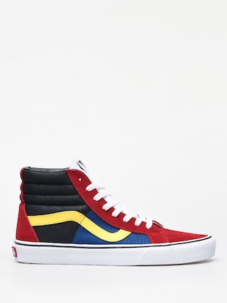 Vans Sk8 Hi Reissue Shoes (otw rally/chilli pepper/true white)