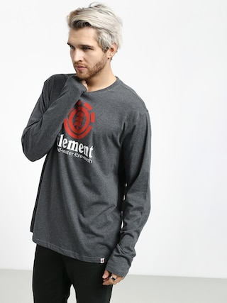 Element Vertical Longsleeve (charcoal heathe)
