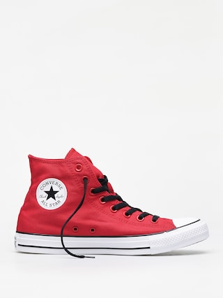 Converse Chuck Taylor All Star Hi Chucks (enamel red/white/black)