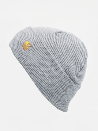 Carhartt WIP Chase Beanie (grey heather/gold)