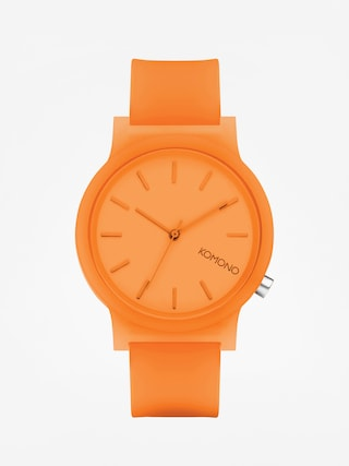 Komono Mono Watch (neon orange glow)