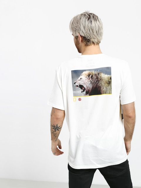 Element Snarl T-shirt (off white)