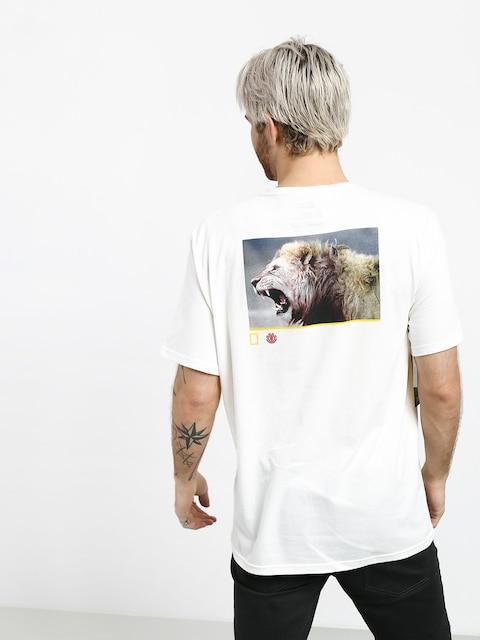 Element Snarl T-shirt (off white)