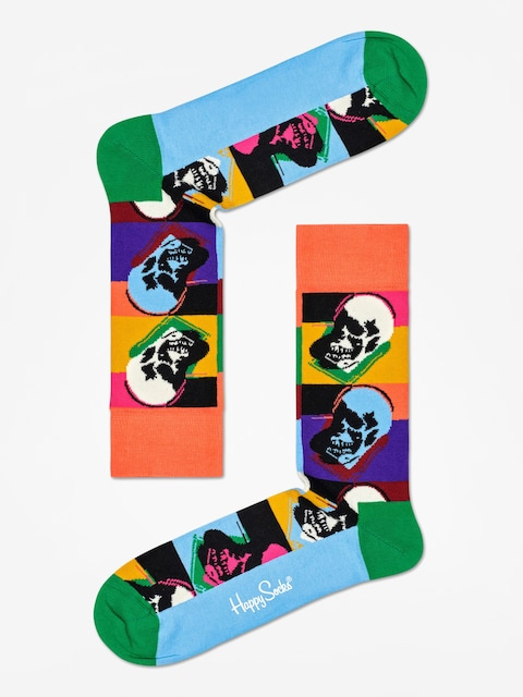 Happy Socks Andy Warhol Skull Socks (multi)