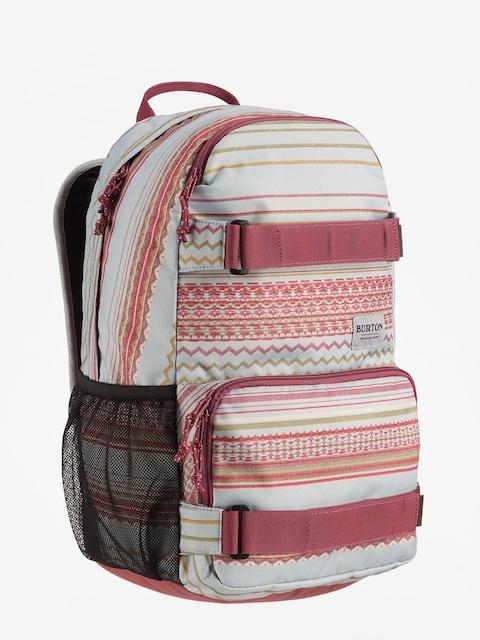 Burton Treble Yell Backpack (aqua gray revl print)