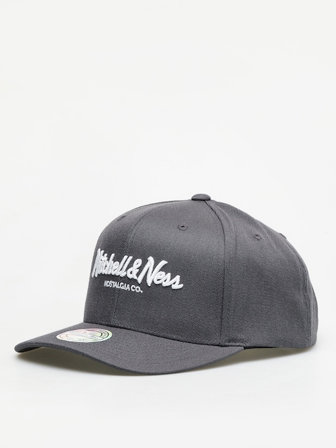 Mitchell & Ness Script High Crown 110 ZD Cap (charcoal)