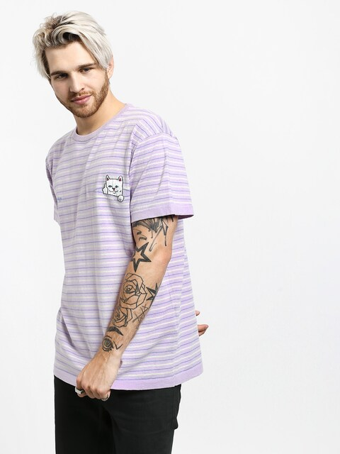RipNDip Peeking Nermal T-shirt (lavender/lime)