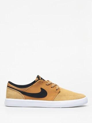 Nike SB Solarsoft Portmore II Shoes (wheat/black white)