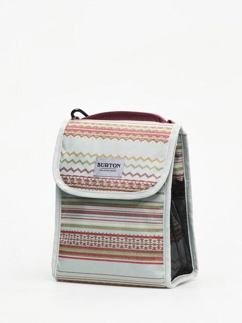 Burton Lunch Sack Bag (aqua gray revl print)