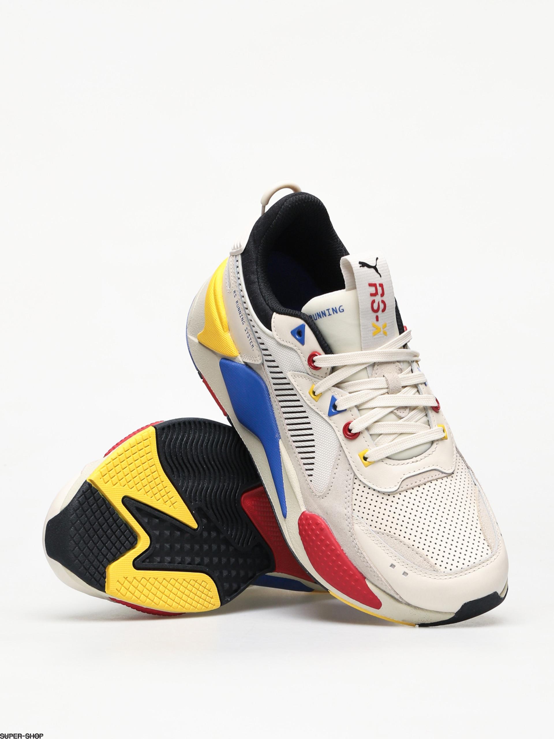 Puma RS X Colour Theory Shoes (whisper whitepuma black)