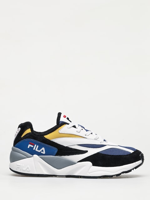 Fila V94M Low Shoes (black/white/citrus)