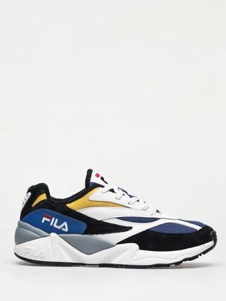 Fila V94M Low Shoes (black/white/citrus)