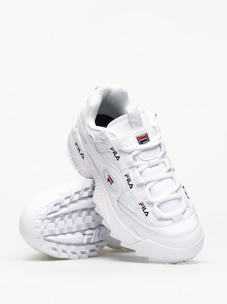 Fila D Formation Shoes (white/fila navy/fila red)