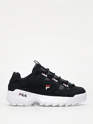 Fila D Formation Shoes (black/white/fila red)