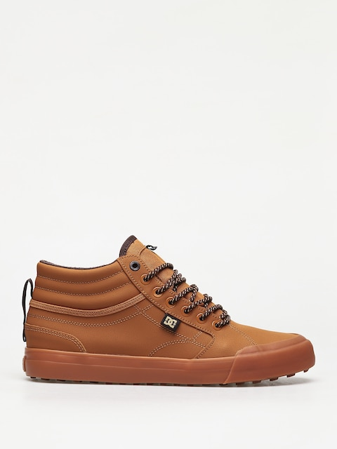 DC Evan Hi Wnt Shoes (wheat/dk chocolate)