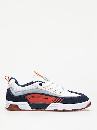 DC Legacy98 Slm Shoes (navy/ orange)
