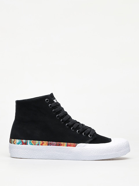 DC T Funk Hi S Shoes (black/white print)