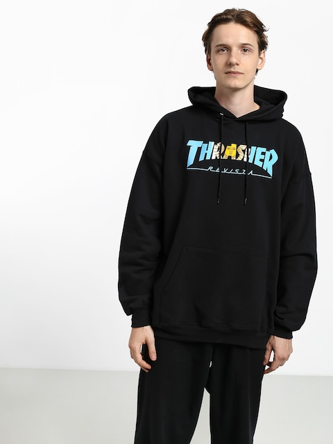 Thrasher Argentina HD Hoodie (black)