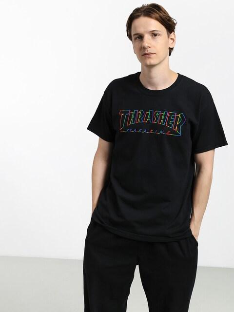 Thrasher Spectrum T-shirt (black)