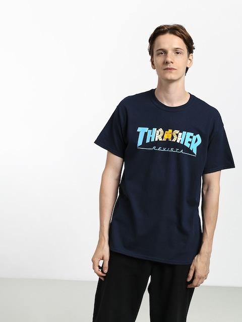 Thrasher Argentina T-shirt (navy)