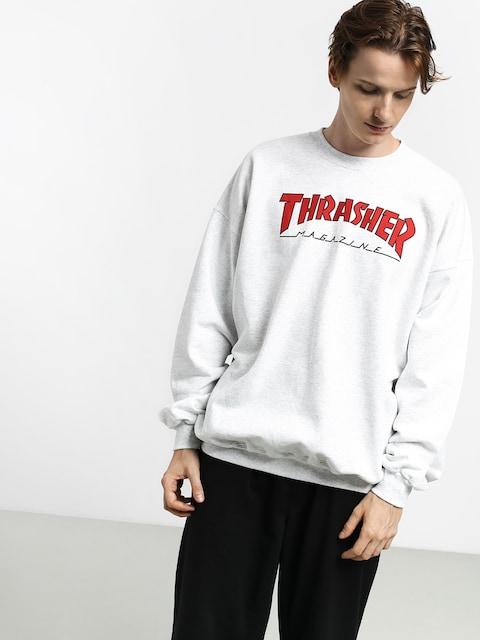 Thrasher Outlined Sweatshirt (ash grey)