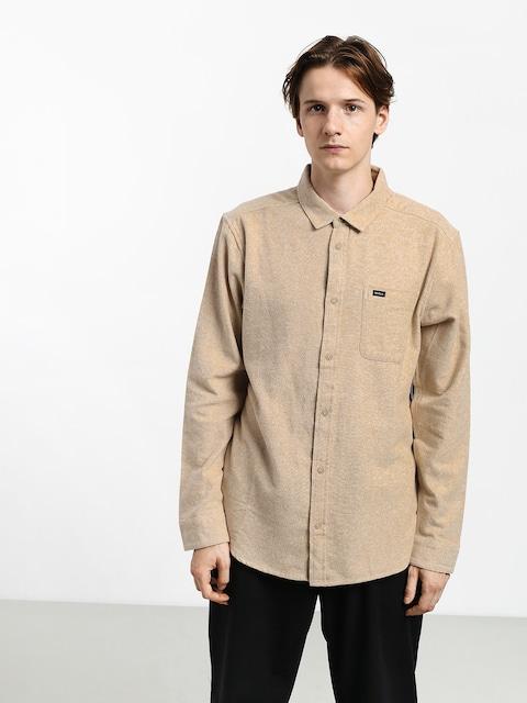RVCA Blackand Flannel L Shirt (dust yellow)