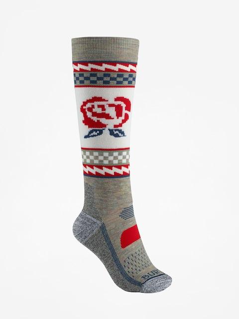 Burton Performance Midweight Socks Wmn (oatmeal heather)