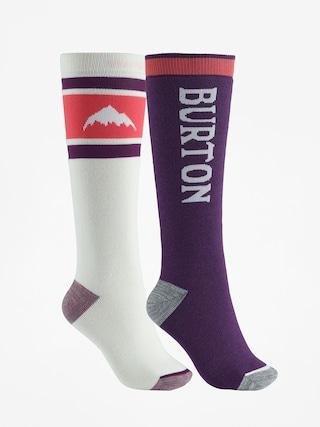 Burton Weekend Midweight 2Pk Socks Wmn (stout white)