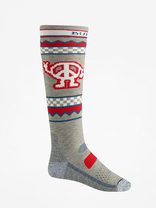 Burton Performance Midweight Socks (oatmeal heather)