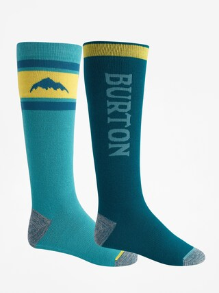Burton Weekend Midweight 2Pk Socks (deep teal)
