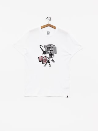 DC Crush Trhu T-shirt (snow white)