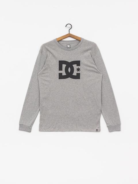 DC Star Longsleeve (grey heather/black)
