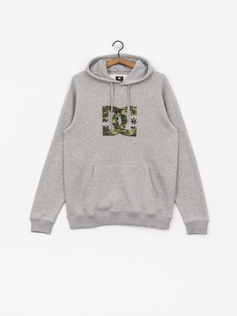 DC Star HD Hoodie (grey heather/camo)
