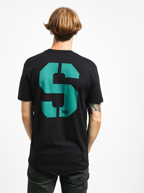 Supra Stencil T-shirt (black/teal)