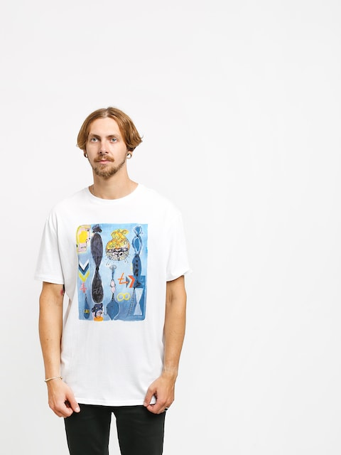 Quiksilver Art House Photoprint T-shirt (white)