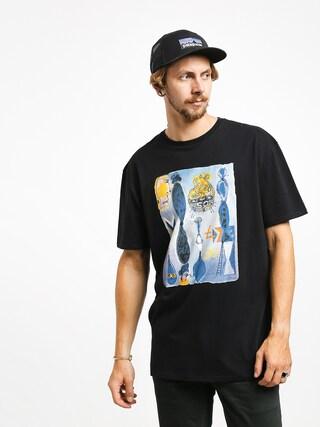 Quiksilver Art House Photoprint T-shirt (black)