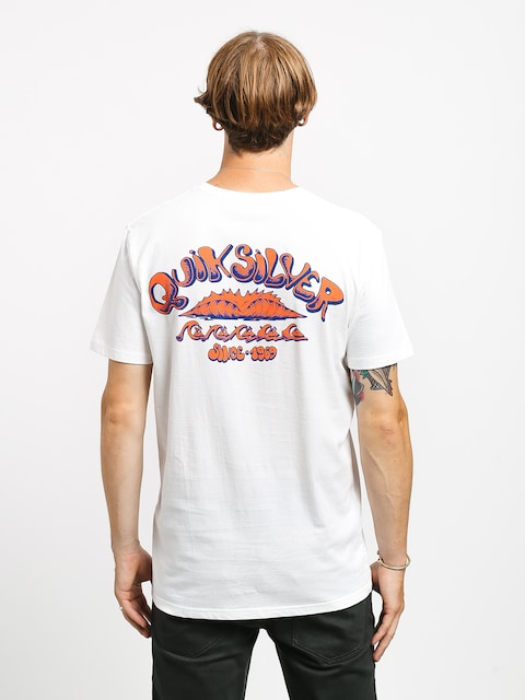 Quiksilver Wave Count T-shirt (white)