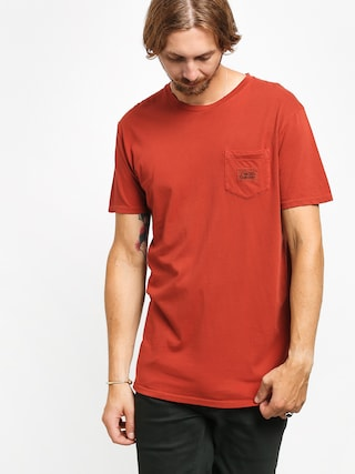Quiksilver Above The Lip T-shirt (burnt brick)