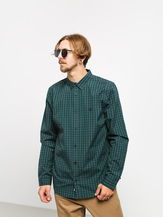 Element Icon Gingham Shirt (navy)