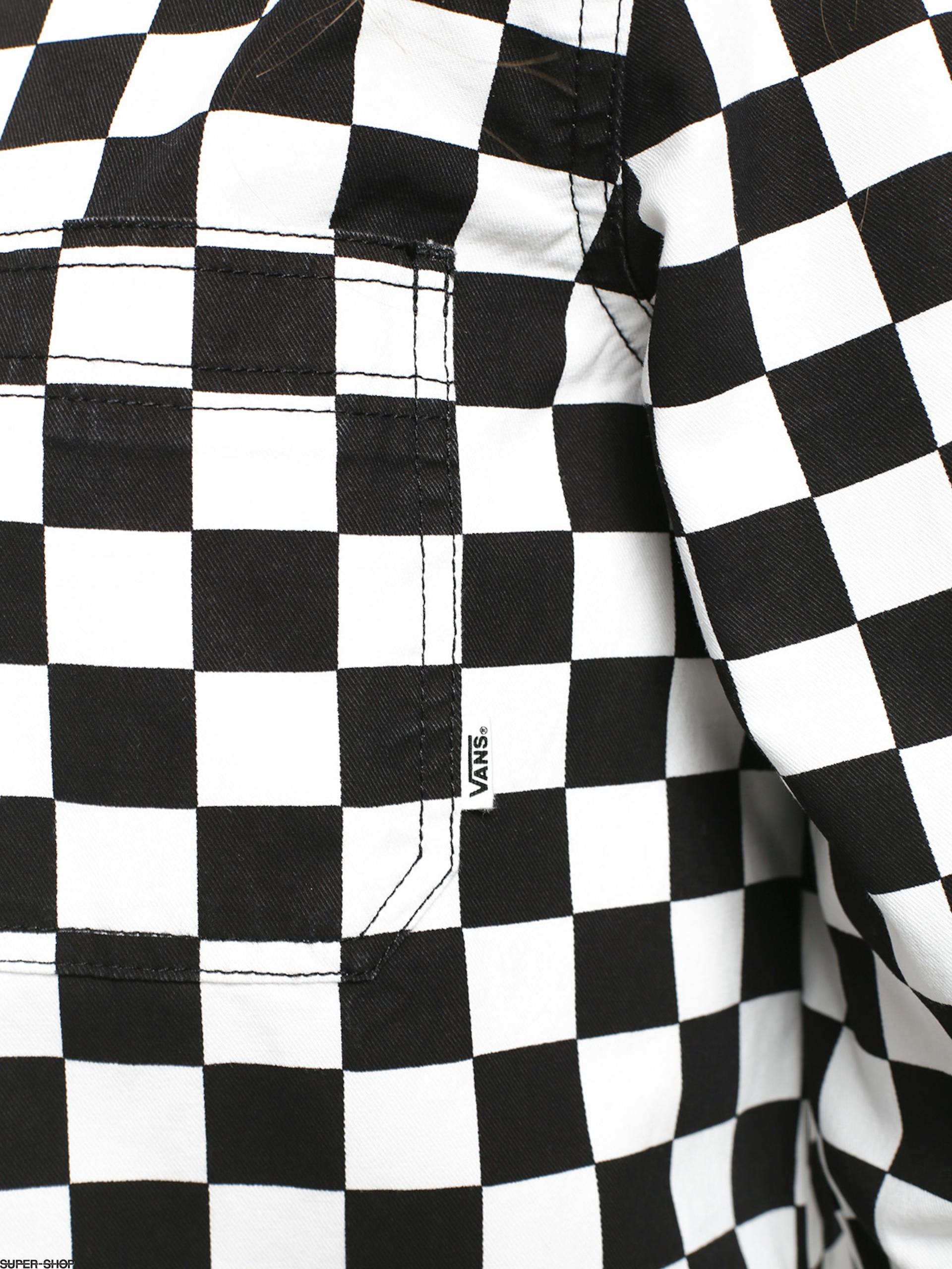 Vans Broadway II Checkerboard Shirt